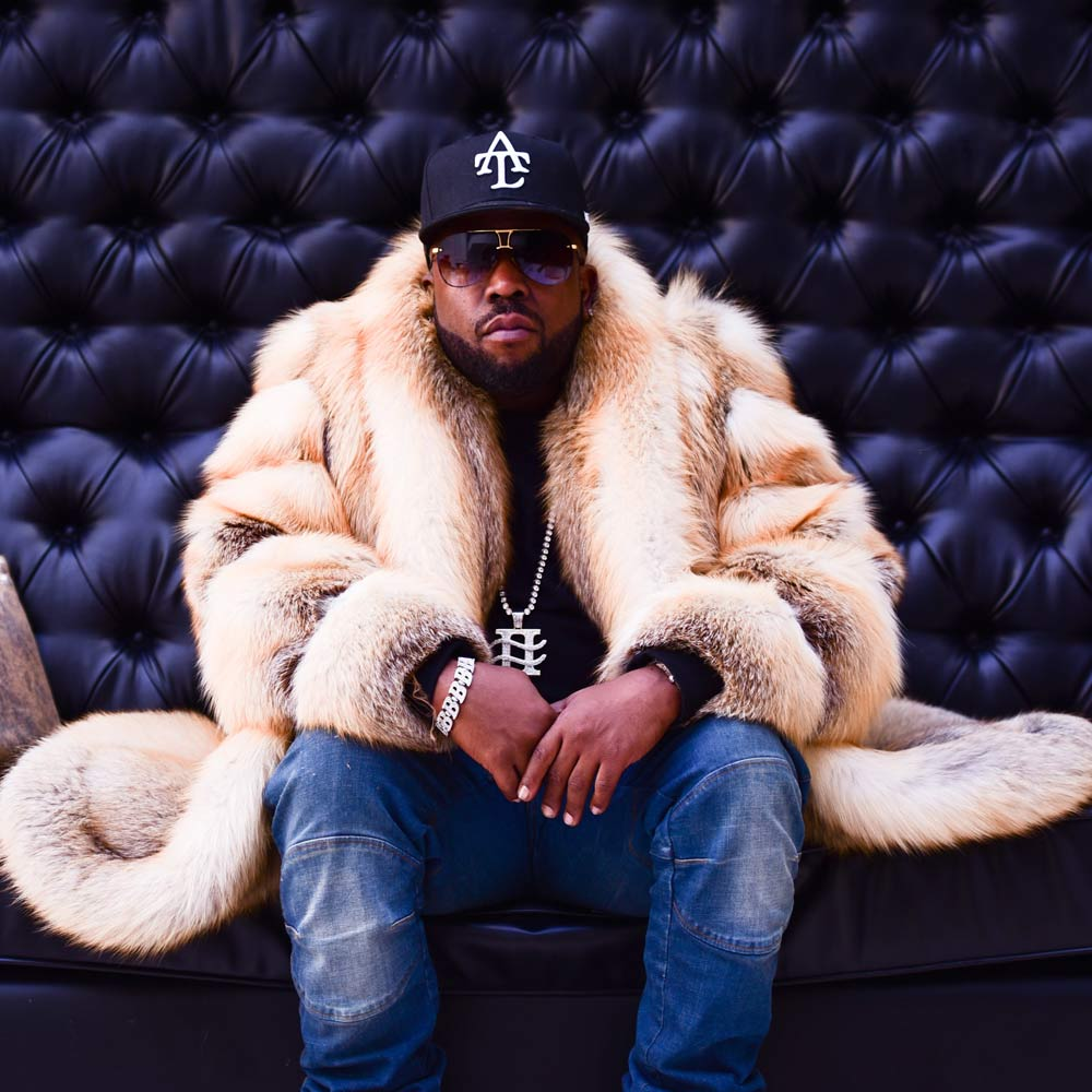 Big Boi performing at Tailgate Fest 2019