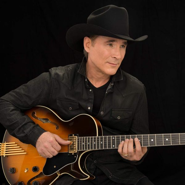 Clint Black performing at Tailgate Fest 2019