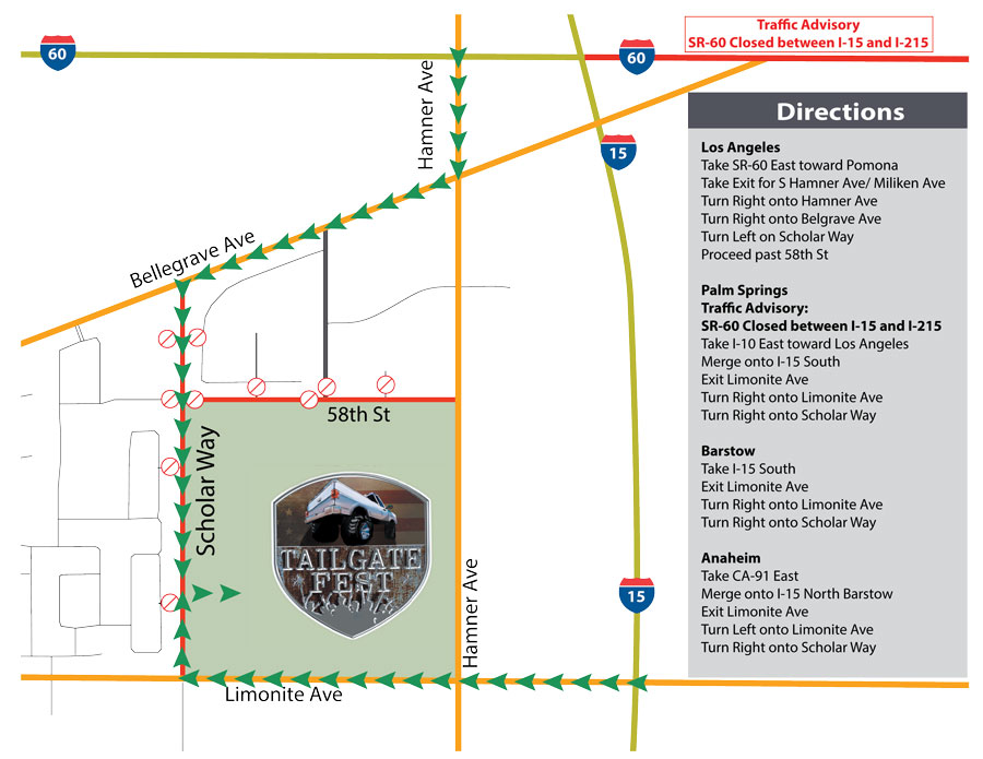 Leal Ranch Map